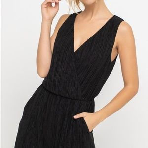 Lush black jumpsuit